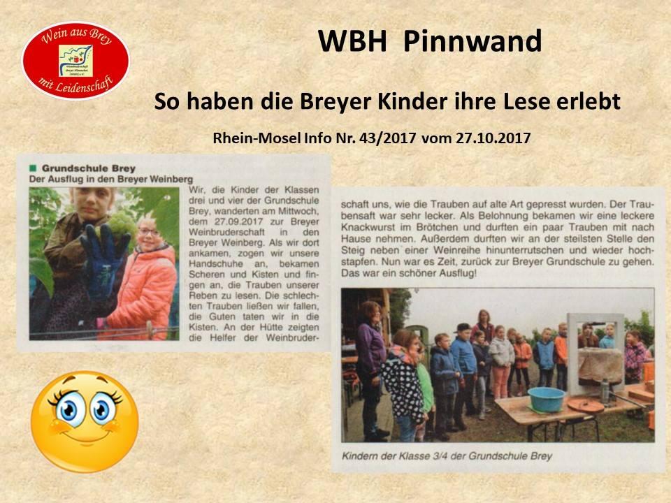 Traubenlese der Breyer Grundschule