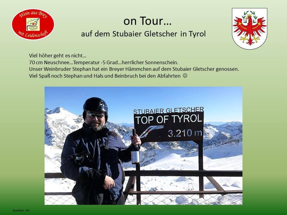 BH auf dem Stubaier Gletscher in Tyrol