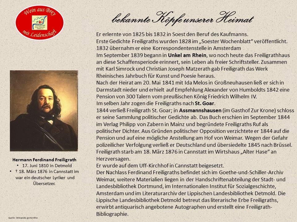 Hermann Ferdinand Freiligrath