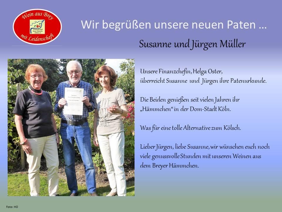 Willkommen im Club – Susanne und Jürgen Müller