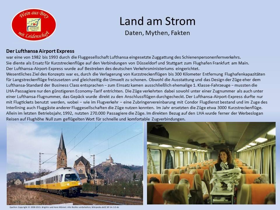 Der Lufthansa Airport Express