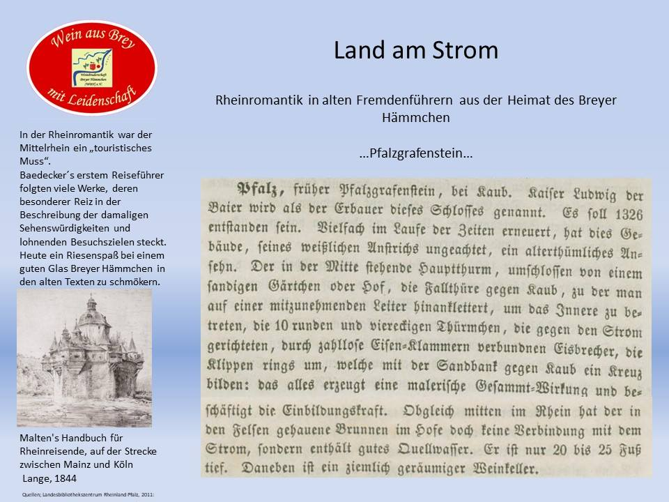 ...Bollwerk im Rhein...