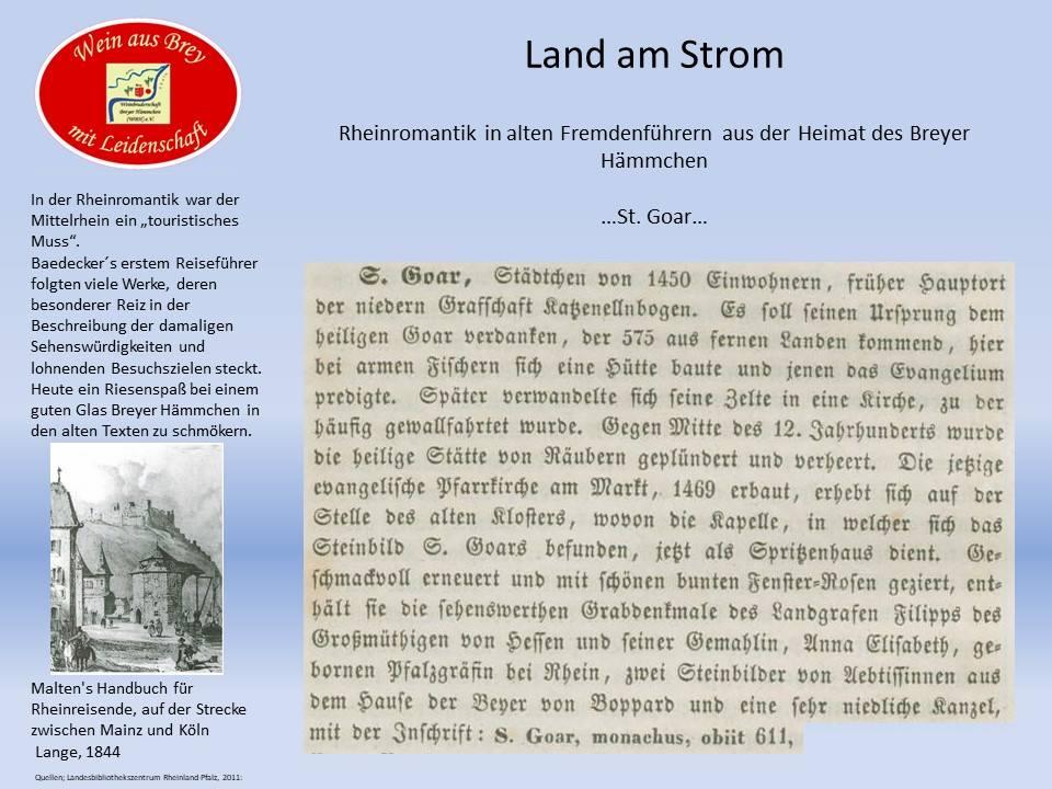 ...St.Goar um 1844...