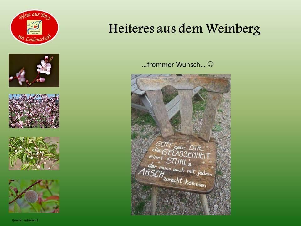 ...frommer Wunsch...